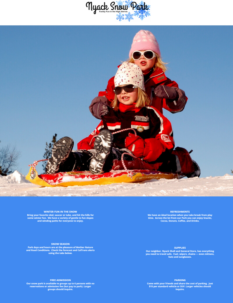 Nyack Snow Park